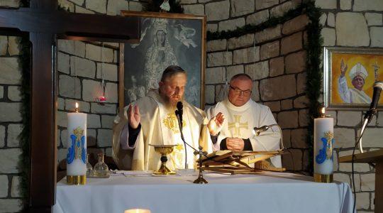 Homilie wygłoszone podczas Mszy Świętych w Uroczystość Chrystusa Króla-Sanktuarium Matki Bożej Wniebowziętej i św. Charbela we Florencji (22.11.2020)