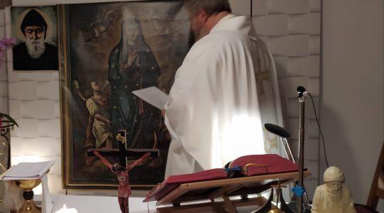 Transmisja Mszy Świętej-Florencja 07.11.2020