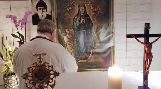 Modlitwa różańcowa w intencji zmarłych-Santo Rosario per i defunti-Florencja 14. 11.2020
