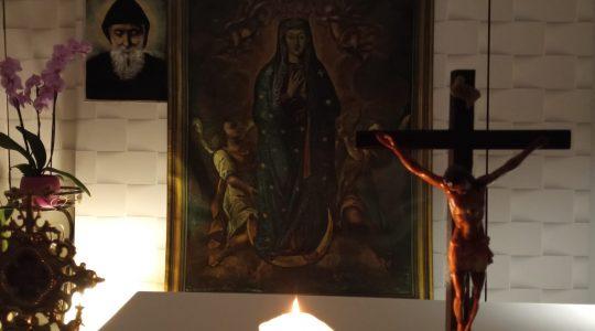 Modlitwa różańcowa w intencji zmarłych-Santo Rosario per i defunti-Florencja 13.11.2020