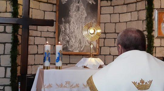 Modlitwa różańcowa w intencji zmarłych-Santo Rosario per i defunti-Florencja 18.11.2020