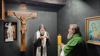 Modlitwa różańcowa za zmarłych-Santo Rosario per i defunti-Florencja 15.11.2020