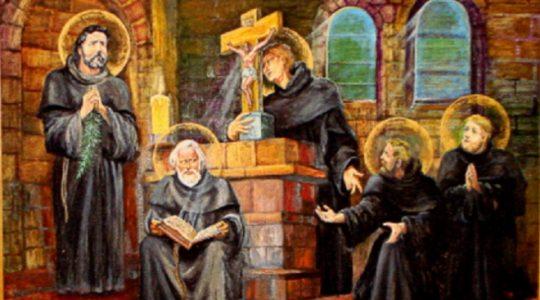 Benedykt, Jan, Mateusz, Izaak i Krystyn, pierwsi męczennicy Polski (13.11.2020)