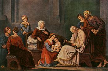 Święci Elżbieta i Zachariasz, rodzice św. Jana Chrzciciela (05.11.2020)
