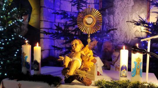 Adorazione Eucaristica e Te Deum alle ore 17.45-Florencja 31.12.2020