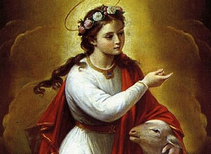 Święta Agnieszka, dziewica i męczennica (21.01.2021)