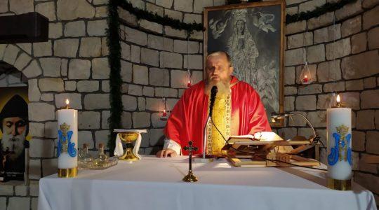 Transmisja Mszy Świętej o godz. 19.30-Florencja 21.01.2021