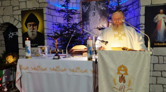 Transmisja Mszy Świętej godz. 11.00-Chrzest Pański,KKN Florencja 10.01.2021
