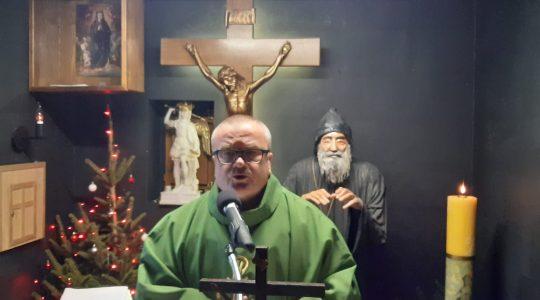 Transmisja Mszy Świętej z kaplicy św. Charbela,godz.15.00-Florencja 18.01.2021