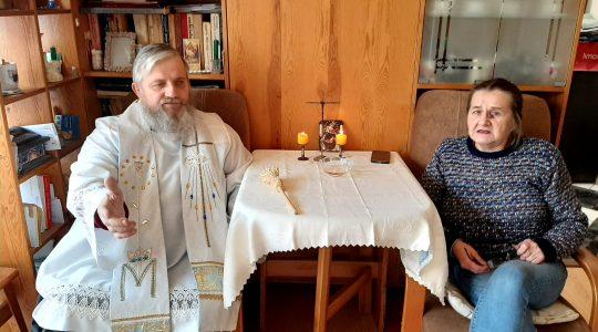 Ks. Jarek błogosławił domy, rodziny i… pieski (19.01.2011)