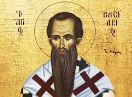 Święty Bazyli Wielki, biskup i doktor Kościoła (02.01.2021)