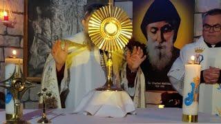 Nabożeństwo z modlitwą o uzdrowienie za wstawiennictwem św. Charbela o godz. 19.00-Adorazione Eucaristica-Florencja 22.01.2021