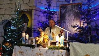 Transmisja Mszy Świętej o godz. 19.30-KKN Florencja 05.01.2021
