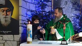 Transmisja Mszy Świętej,godz. 19.30-III Niedziela Zwykła-Florencja 24.01.2021
