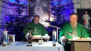Transmisja Mszy Świętej o godz.18.00-Florencja 22.01.2021