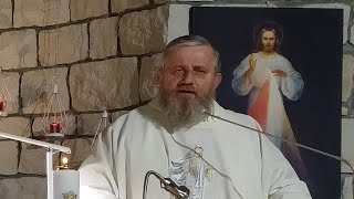 Transmisja Mszy Świętej o godz. 19.30-Kaplica św. Charbela,Florencja 04.03.2021
