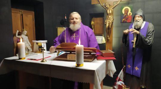 Transmisja Mszy Świętej-Kaplica św. Charbela,Florencja 05.03.2021