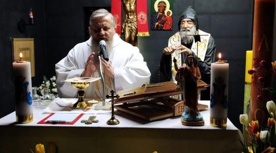 Transmisja Mszy Świętej o godz. 20.00-Florencja 14.04.2021