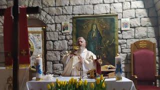 Transmisja Mszy Świętej o godz. 20.00-Piatek w Oktawie Wielkanocy,Florencja 09.04.2021