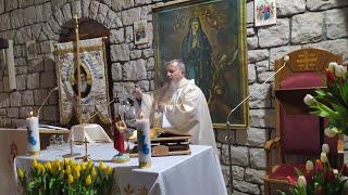 Transmisja Mszy Świętej o godz. 20.00-II Tygodnia Wielkanocnego,Florencja 12.04.2021