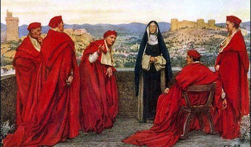 Święta Katarzyna ze Sieny, dziewica i doktor Kościoła patronka Europy (29.04.2021)