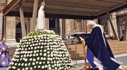 Dziś Matki Bożej Fatimskiej 13.05.2021