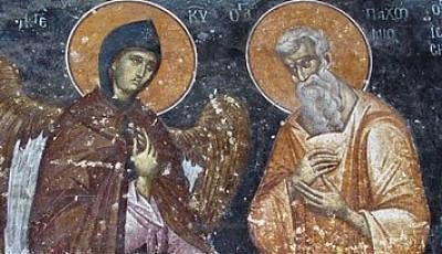 Święty Pachomiusz Starszy, pustelnik (09.05.2021)