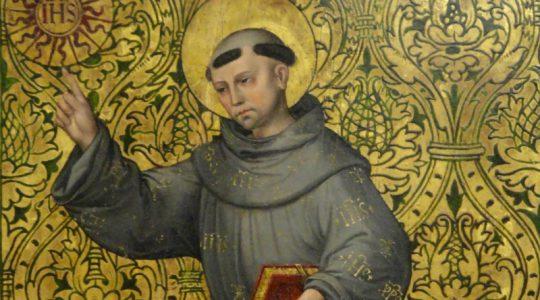 Święty Bernardyn ze Sieny, prezbiter (20.05.2021)