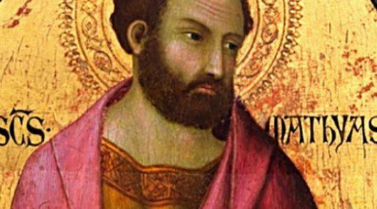 Święty Maciej, Apostoł (14.05.2021)
