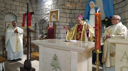 Msza Święta, godz. 16.50-Poświęcenie-Konsekracja Ołtarza-Florencja 08.05.2021