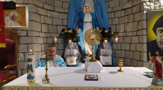 Nabożeństwo Majowe,transmisja o godz. 20.00-Florencja 11.05.2021