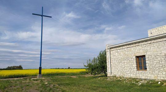 Nabożeństwo majowe i poświęcenie fundamentu pod grotę Matki Bożej – dziś w południe 16.05.2021