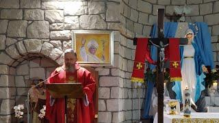 La Santa Messa in diretta alle ore 19.00-San Tommaso, Apostolo-03. 07.2021