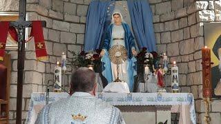 Transmisja Nabożeństwa Majowego, godz. 12.00-Florencja 30.05.2021