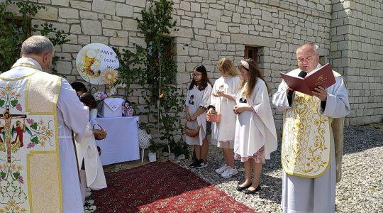 Msza św., procesja, błogosławieństwo na cztery strony świata…  04.06. 2021