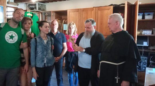 Goście z Włoch zobaczyli Niepokalanów i Warszawę 7.06. 2021