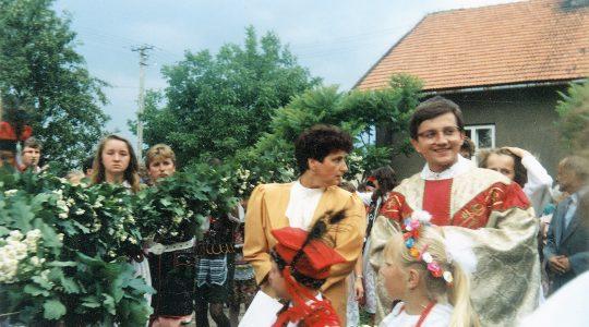 28 lat temu ks. Jarosław przyjął święcenia kapłańskie 12.06. 2021