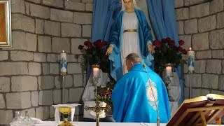 La Santa Messa in diretta alle ore 19.00-Cuore Immacolato Beata Vergine Maria-Florencja 12.06.2021