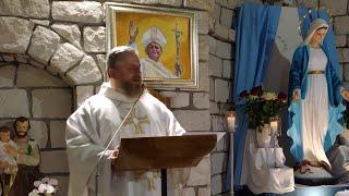 La Santa Messa in diretta alle ore 19.00-Florencja 05.06.2021