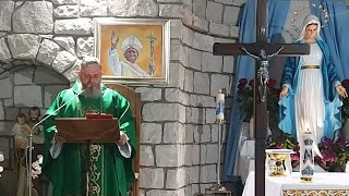 La Santa Messa alle ore 19.15-Florencja,07.06.2021