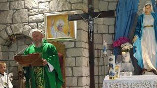Litania a Sacro Cuore di Gesù alle ore 18.30-La Santa Messa -XI Domenica Tempo Ordinario-Florencja 13.06.2021