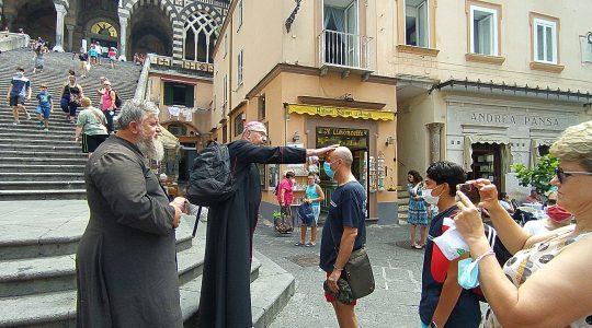 Modlitwa w Amalfi 21.07.2021