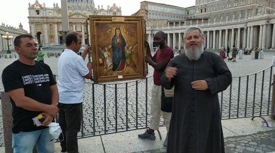 La Madonna ha preparato questa udienza straordinaria-Roma 23.07.2021