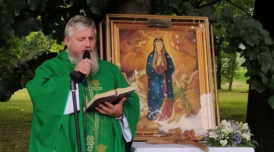 Uroczystość Powitania i Msza Święta Peregrynacji Cudownego Obrazu Matki Bożej Dobrego Początku,godz.15.00-Rybnik 23.10.2021