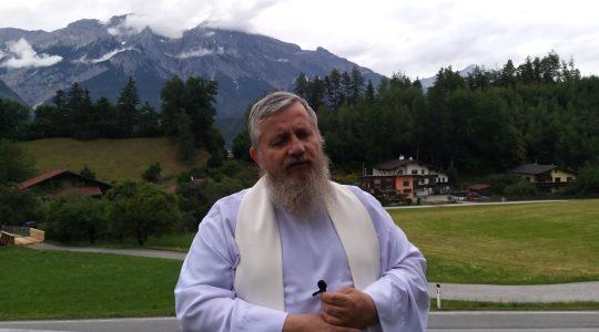 Padre Jarek invita per primo venerdì del mese-1.07.2021