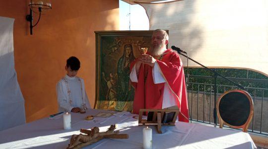 Transmisja Mszy Świętej,godz. 15.20-Ks. Jarek w Italii, 05.07.2021