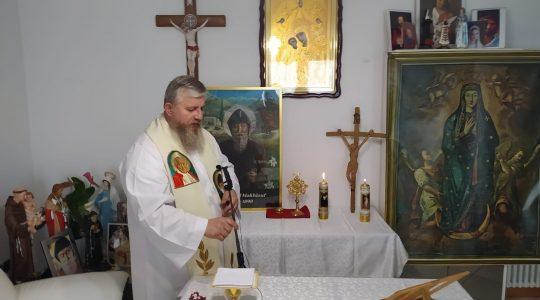Transmisja Mszy Świętej,godz. 15.20-Ks. Jarek w Italii-06.07.2021