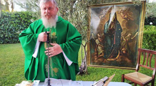 La Santa Messa in diretta alle ore 19.00-12.07.2021