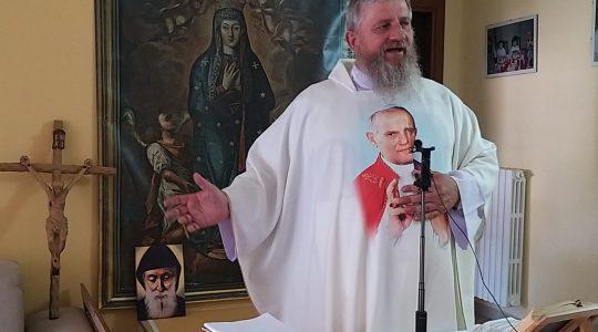 Transmisja Mszy Świętej, godz. 15.20-Ks. Jarek w Italii-15. 07.2021