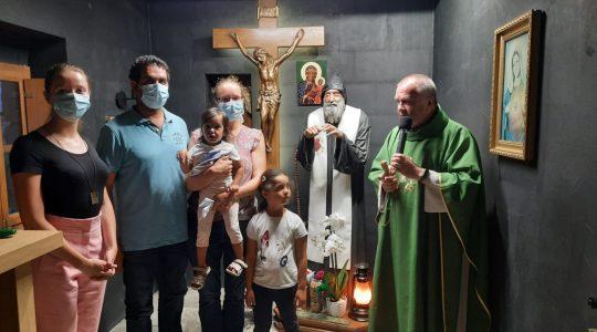 Pielgrzymi goszczą we Florencji koło Iłży 31.07 2021
